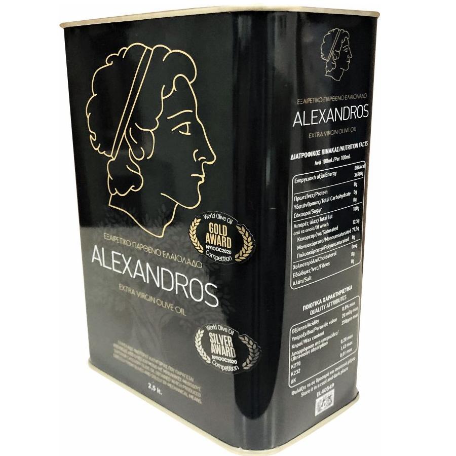Ulei de masline Extravirgin BLACK Edition 2,5L – ALEXANDROS