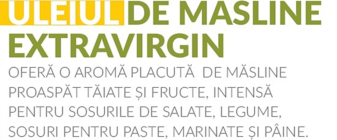 Ulei de Masline Extravirgin Presat la rece